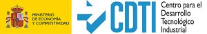 Gobierno de España: Ministerio de Economía y Competitividad - CDTI Centro para el Desarrollo Tecnológico Industrial